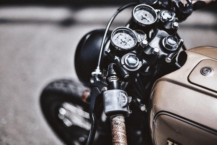 Cadran de moto ancienne