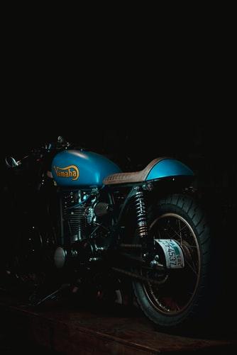 moto de collection Yamaha